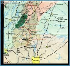appalachian trail map carolina travel map vacations