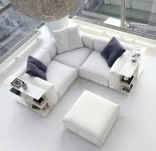divani in piuma d oca divani bianchi per un salotto moderno arredamento