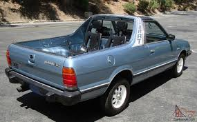 1986 subaru brat interior only 55k miles 4x4 4wd t tops ac works rear seats calif car