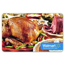 dinner and a gift card walmart turkey gift card restricted walmart