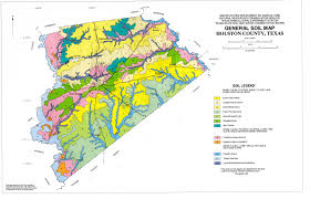 Map Houston General Soil Map Houston County Texas The Portal To Texas History