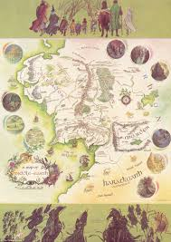 A Map Of The World Book by Map Of Middle Earth With J R R Tolkien U0027s Handwritten Notes Sold