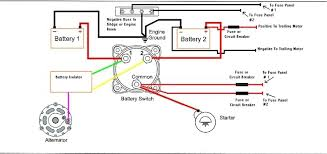 boat battery isolator switch wiring diagram wiring diagram and