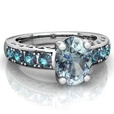 aquamarine and lab alexandrite art deco ring r2030 waqca