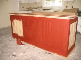 painting a kitchen island red milk paint kitchen cabinets best home furniture decoration