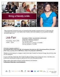 hiring a housekeeper housekeeping hiring event women at work