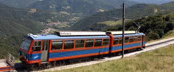 treno cremagliera in vetta al monte generoso con il trenino a cremagliera infoinsubria