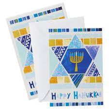 unicef of david hanukkah cards box of 12 boxed cards