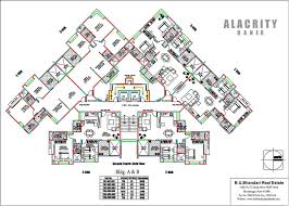 Residential Plan Bu Bhandari Alacrity Pune Discuss Rate Review Comment Floor