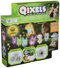amazon com qixels glow in the dark design creator toy toys u0026 games