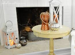 Mercury Glass Home Decor Budget Friendly Fall Decorating Ideas Mixed Metals Fox Hollow