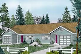 Multi Unit House Plans Multi Unit Ranch House Plans Home Design Ddi100 108 1946