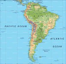 Costa Rica On World Map by South America Location On The World Map World Map North America