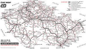 Map Of Czech Republic Czech Republic Railuk Forums