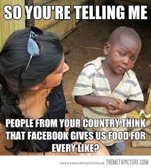 Little Black Girl Meme - skeptical kid finds out about facebook the meta picture
