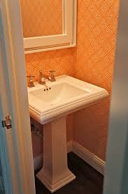orange powder room orange powder room design ideas pictures zillow