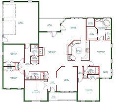 one level open floor plans one level living floor plans homes floor plans