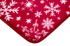 Christmas Bath Rug Set by Roll Over Image To Zoom In Christmas Bath Mat Memory Foam Rug Pvc