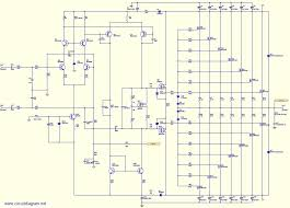 800w high power mosfet lifier schematic diagram schematic