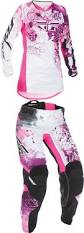youth girls motocross gear 2017 fly racing youth girls kinetic jersey pant combo mx atv