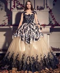 online shop 2015 vestido luxury prom dresses ball gown long sleeve