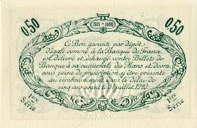 chambre de commerce le mans billets de nécessité le mans sarthe chambre de commerce du