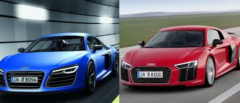Audi R8 Hybrid - which looks best the new audi r8 or the outgoing version