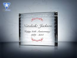 wedding anniversary plaques is patient anniversary plaque etched award