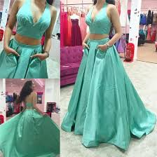 Formal Dresses With Pockets Dress Wo Pieces Green Prom Dresses With Pockets Formal