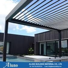 Pergola Canopy Ideas by Aluminum Pergola Advanced Opening And Closing Louvered Roof