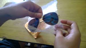 Aliexpress India by Unboxing Blue Mirrored Sunglasses From Aliexpress Shipped From