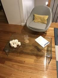 Ghost Coffee Table - freedom ghost glass coffee table coffee tables gumtree