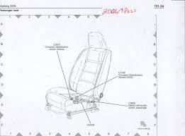 airbag light seat belt swith resistor fix wiring diagram