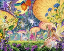 fairies in spring for kid painting in oil for sale