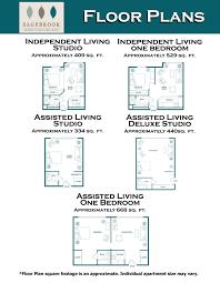 Retirement Floor Plans Crossroads Bellevue Wa Senior Living Floor Plans