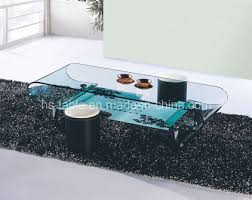 coffee table oval glass coffee table with shelf contemporary