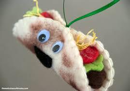 taco ornament personalized ornament plush