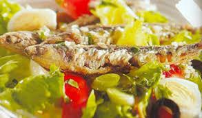 cuisine andalouse anchois en salade à l andalouse cuisine mediterraneenne