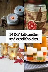 candle arrangements 14 diy fall candles candleholders and candle arrangements