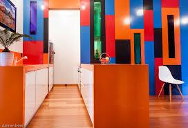 cuisine facade verre intérieur acier thermolaqué cloisons placard meuble de cuisine