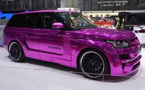 range rover pink and black geneva 2013 hamann u0027s range rover is really freakin u0027 pink