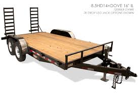 novae corp flatbed steel trailers