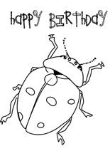 free printable coloring birthday card free online kids coloring