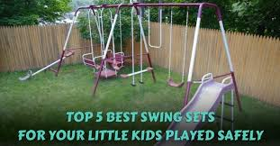 Best Backyard Swing Sets by The Best Swing Sets In 2017 Buyer U0027s Guide And Reviews