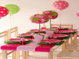 Party Table Decorations by Birthday Table Decorations For Kids