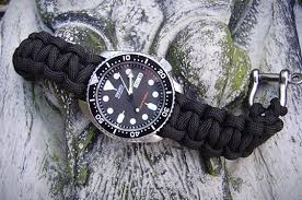 survival bracelet watches images Survival straps paracord watch strap gear patrol jpg