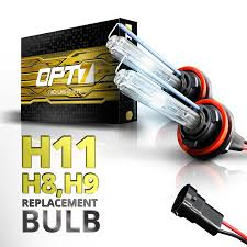 nissan murano xenon headlight bulb amazon com opt7 bolt ac h11 replacement hid bulbs pair 8000k ice