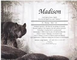 black wolf personalized name meaning print ebay