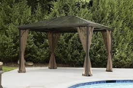 Outdoor Gazebo With Curtains by Ideas Sears Gazebos Outdoor Gazebo Kmart Canopies And Gazebos