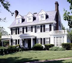 colonial homes best 25 colonial style homes ideas on colonial